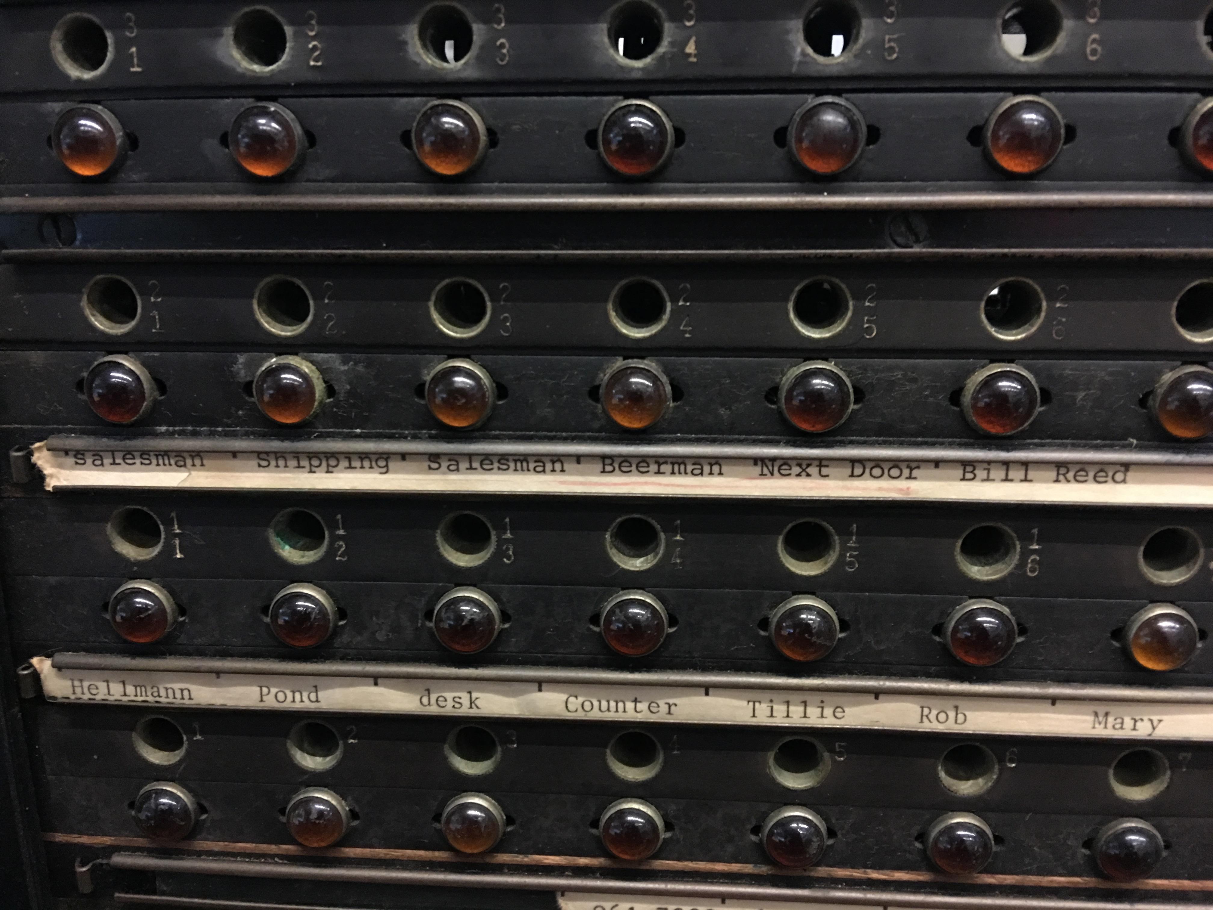 refurbishing a 1927 switchboard