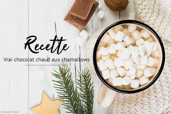 Recette cocooning : le vrai chocolat chaud