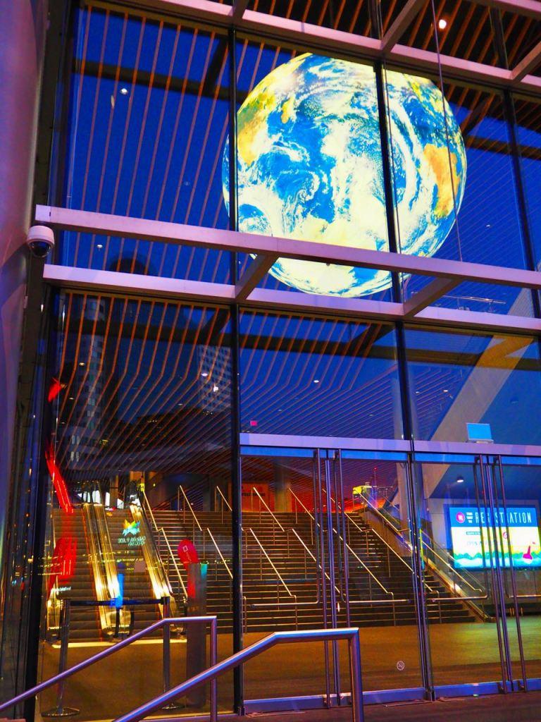 Convention Centre Entrance