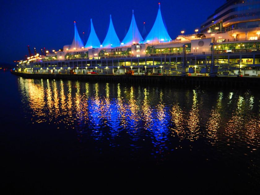 Canada Place by Night