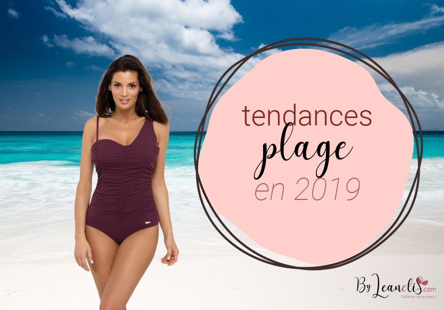 Tendances été 2019 : que porter à la plage ?
