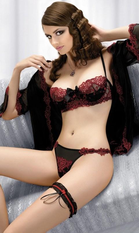 Lingerie sexy : pourquoi pas un soutien-gorge corbeille ? Photo : soutien-gorge Charme de Gracya