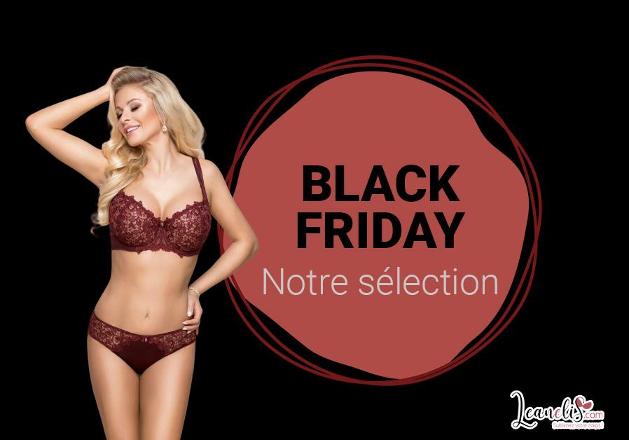 Black Friday 2019 : notre sélection de lingerie