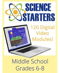 Middle School Science Starters (Scientific Minds)