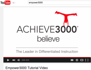 Click above for YouTube video [courtesy of Achieve3000]
