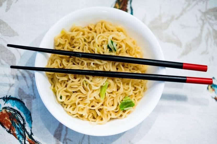 Nouilles chinoise aux poivres