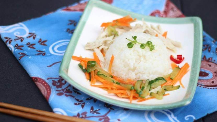 Recette de salade de riz