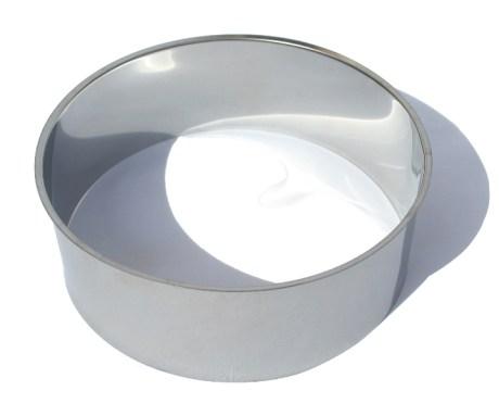 Bavette en acier inoxydable pour toilette sèche