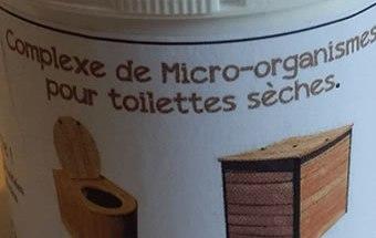 micro organismes pour toilettes sèches