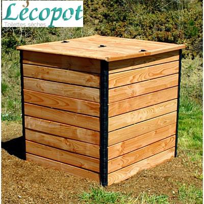 composteur pour toilette sèche