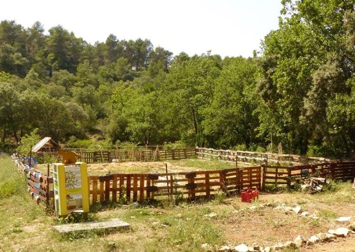 jardin pédagogique du Loubatas
