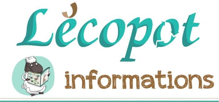 lettre d'information Lécopot