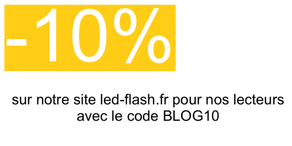 -10% sur Led-Flash.fr
