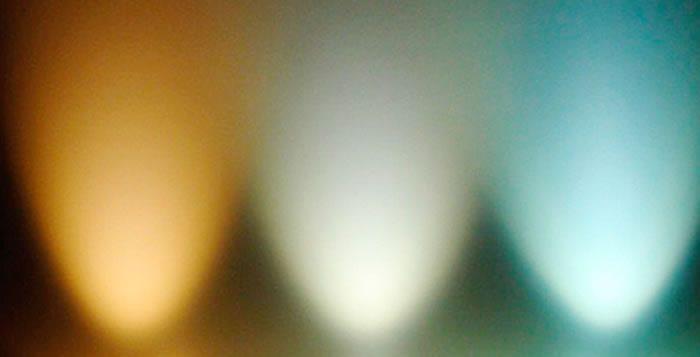 Temperatura de color en las luces led  Ledbox News