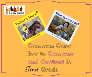 Common Core- How to Compare and Contrast in Grade