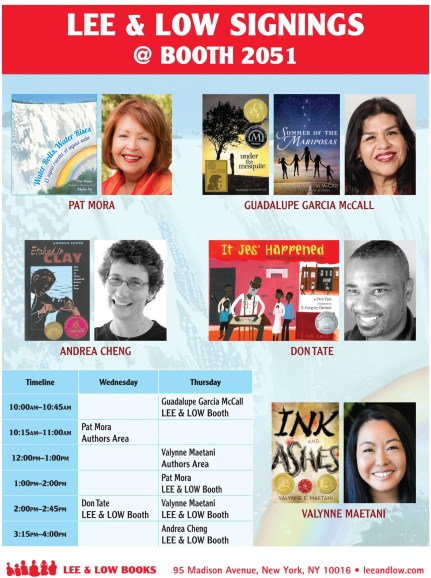 TLA 2015 Signing Schedule poster