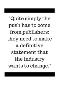 The push has to come from publishers