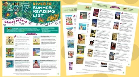 summer 2017 diverse list updated