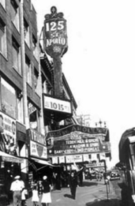apollo theater's first marquee