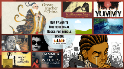 Favorite Multicultural Books for middle school