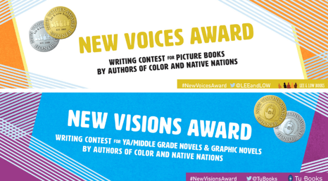 New Voices and New Visions Award Writing Contests