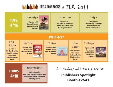 TLA schedule