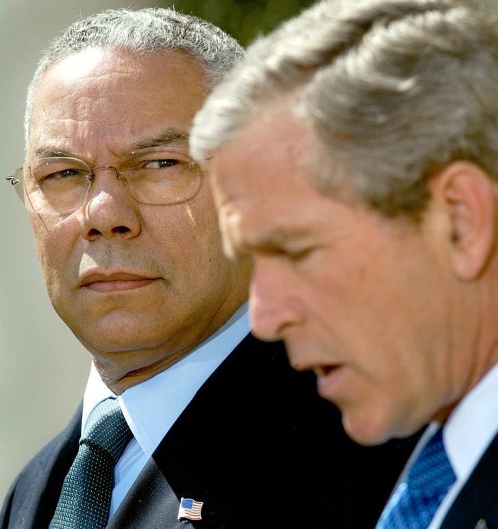 Powell et Bush