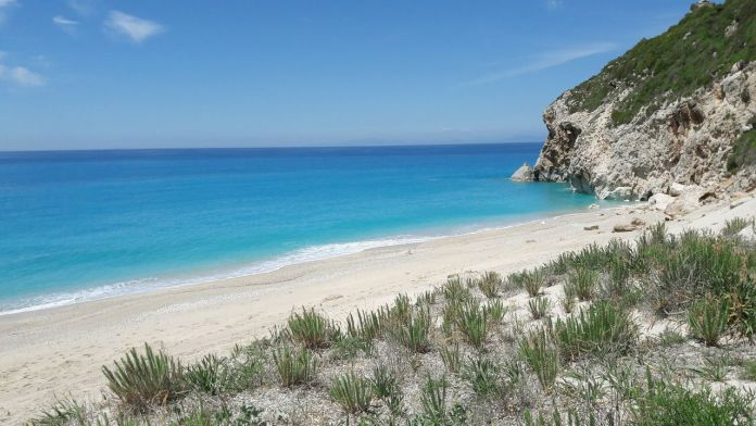 Milos beach, Lefkada