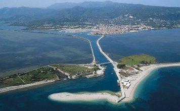 Entrance to Lefkada island