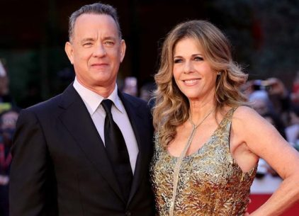 Tom Hanks & Rita Wilson - Antiparos