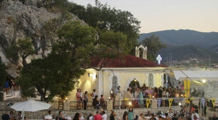Nidri Celebration of Agia Kyriaki