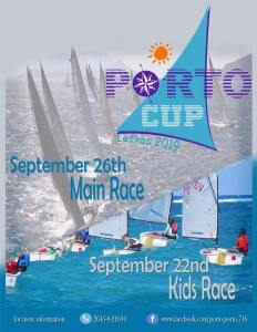 Lefkada Porto Cup Kids Race Flyer