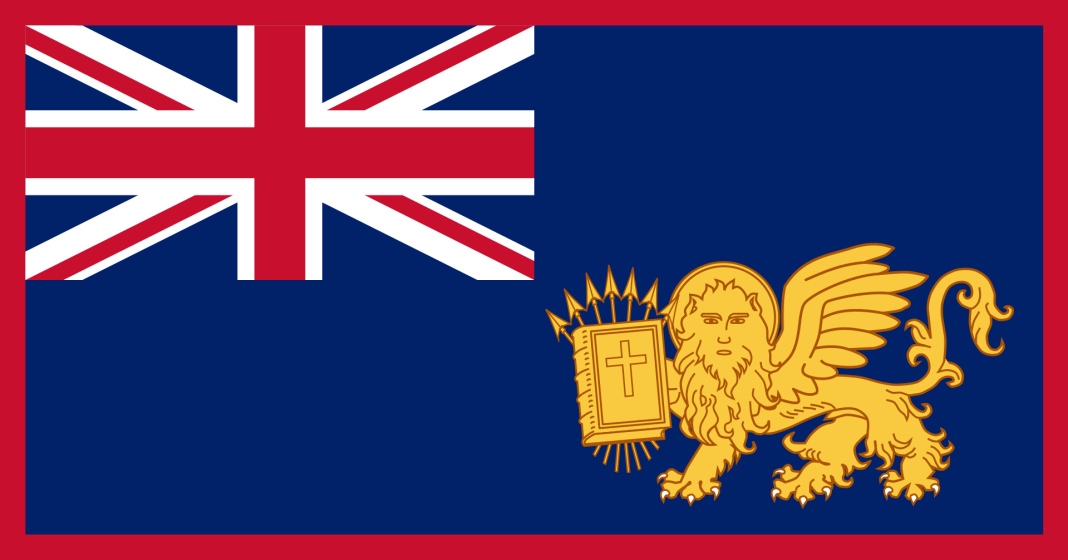 Flag of the Unites States of Ionian Islands