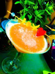 Cocktails in Joy Coffee Bar