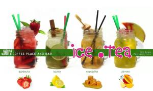 ice teas of Joy Coffee Bar