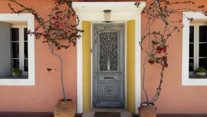 Traditional house in Lefkada town