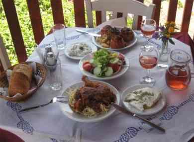 Greek Cuisine in Lefkada