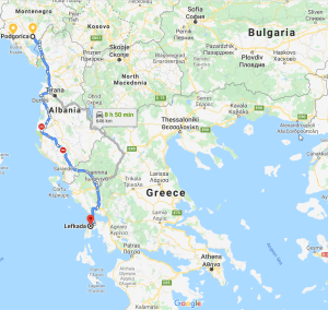 Forget ferries and aeroplanes...Just plan a perfect road trip to Lefkada