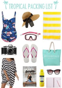 The best summer vacation packing list!