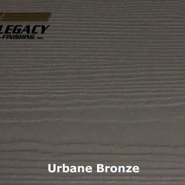 Custom Prefinished James Hardie Lap Siding - Urbane Bronze