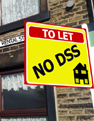 UK Landlords avoid housing benefit tenants