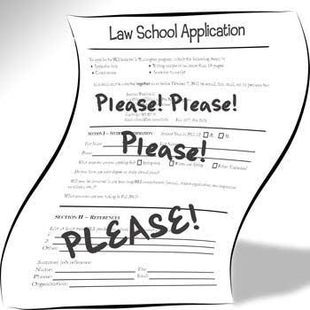 Legal Solutions Blog HOTD: Law school applicant's