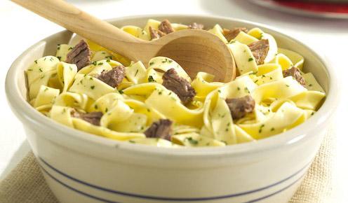 Lehman's beef and noodles