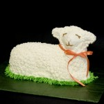 Our Easter Lamb Cake Tradition