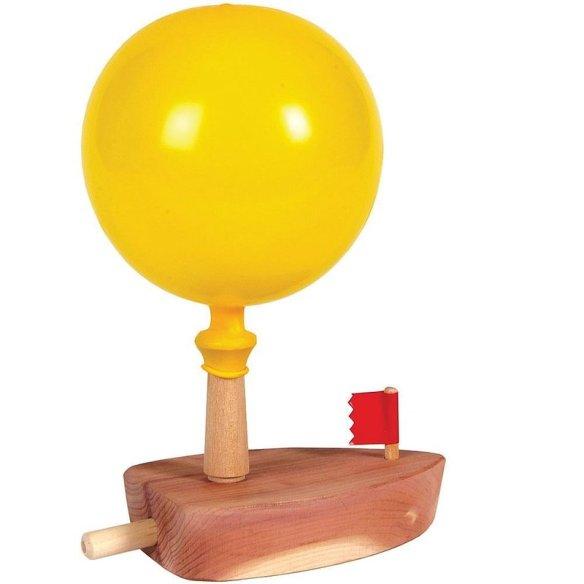 Amish-Made Balloon Boat