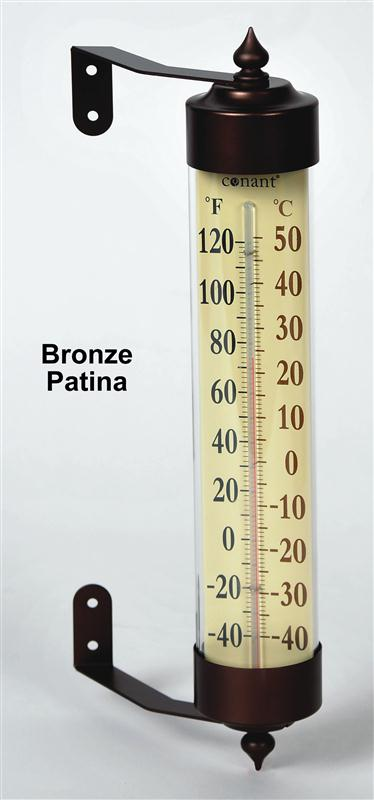 Large, easy to read outdoor thermometer