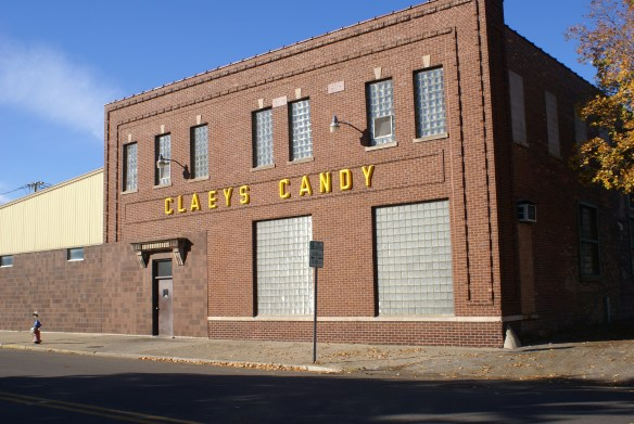 Claey's Candy building