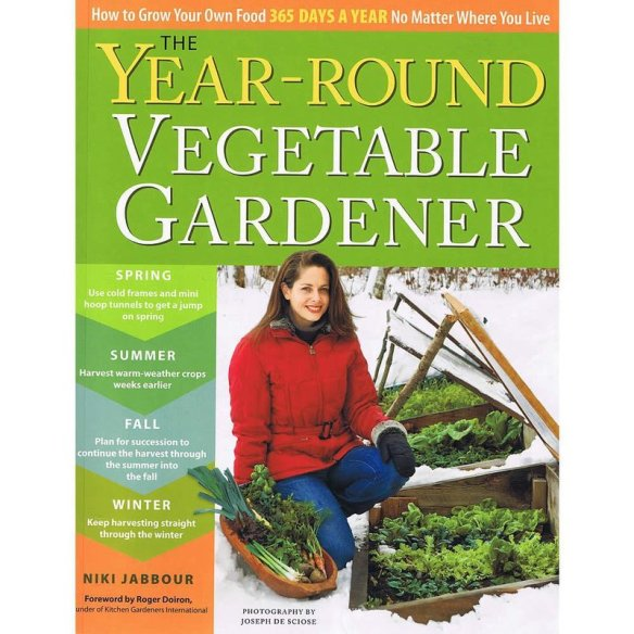 The Year-Round Vegetable Gardener Book
