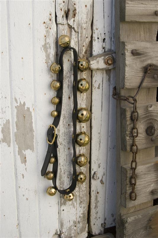 Authentic Solid Brass Sleigh Bells