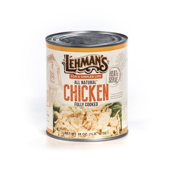 Lehman's Canned Chicken Meat 8 oz.